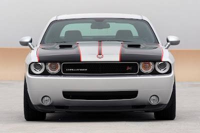 2010 Hurst Silver and Black Series 4 Challenger - Front