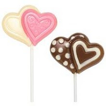 Love Design Lollipop Chocolate (XL)
