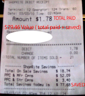 calculate coupon savings formula