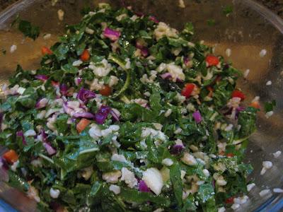 Momspiration: Healthy Eats: Emerald City Salad