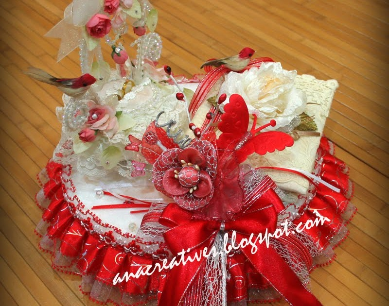 Cakes And Gifts For All Occasion: Glittering Red Theme: Wedding Gift ...