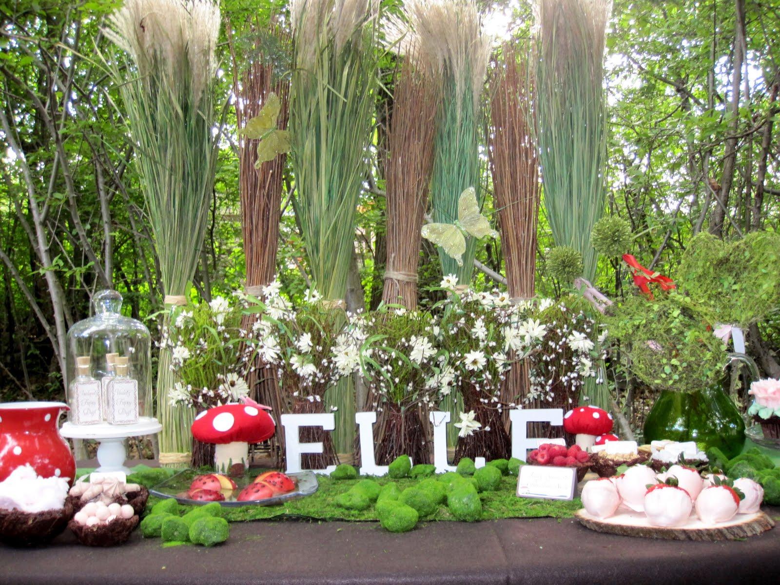 Fairy fever - Jardines decorados para fiestas ...