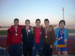 Equipo cadete + juvenil 2009