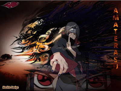Naruto Jutsus on Amaterasu  Itachi Secret Power