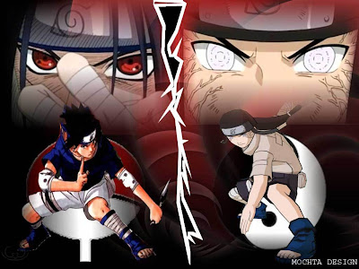Byakugan Vs Sharingan wallpaper