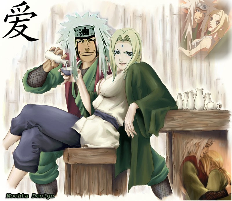 anime wallpaper desktop background. Jiraiya and Tsunade Anime
