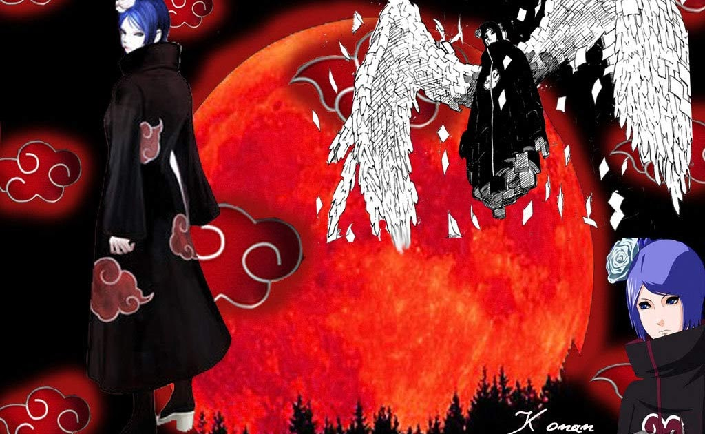 Konan Akatsuki Profile Wallpaper