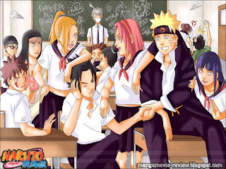 Naruto High School Friendship