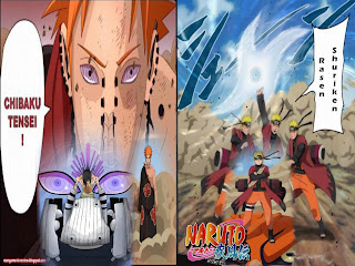 naruto vs pain wallpapers