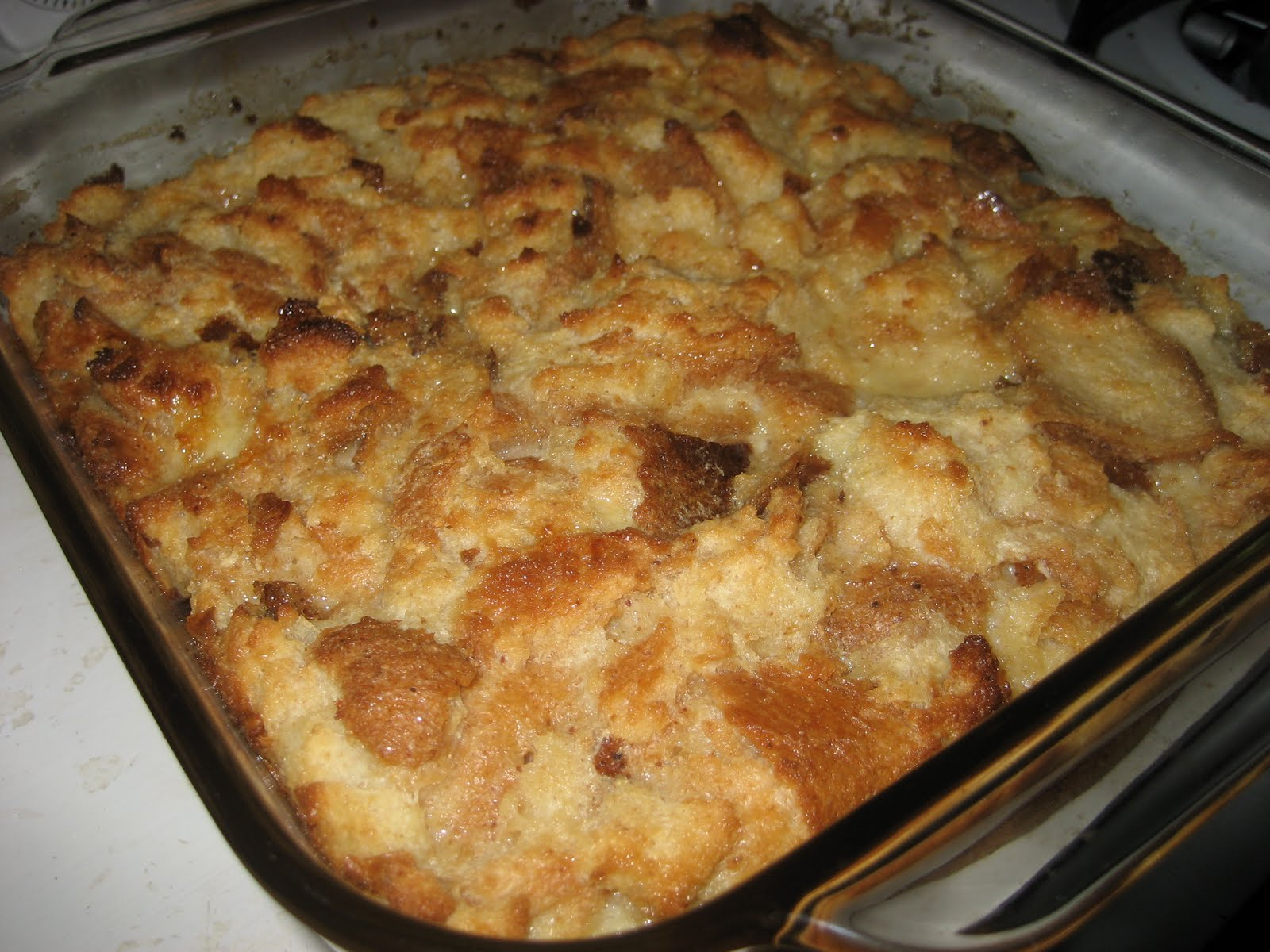love bread pudding what can i say it s just old bread soggy with ...