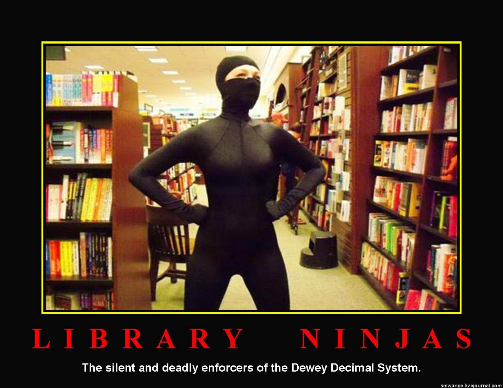 Flaming Zombie Monkeys: Library Ninjas Week Of September 20 2010 Photos