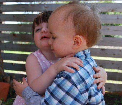 [toddler+hug]