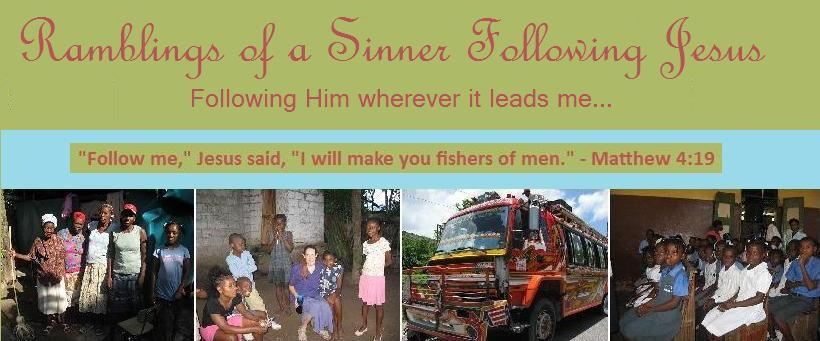 Sinner Following Jesus