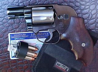 Smith & Wesson Model 38 with Uncle Mike's Holster
