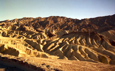 Zabriskie Point, Death Valley, California, Aug. 1995