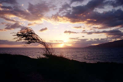 Sunset from North Kihei, Maui, Sep 2008