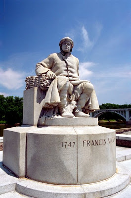 Statue of Francis Vigo, Vincennes, IN, June 2007
