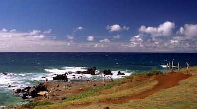 Rocks at Ho'okipa, Maui, July 4, 2008
