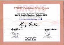 Copic gecertificeerd!