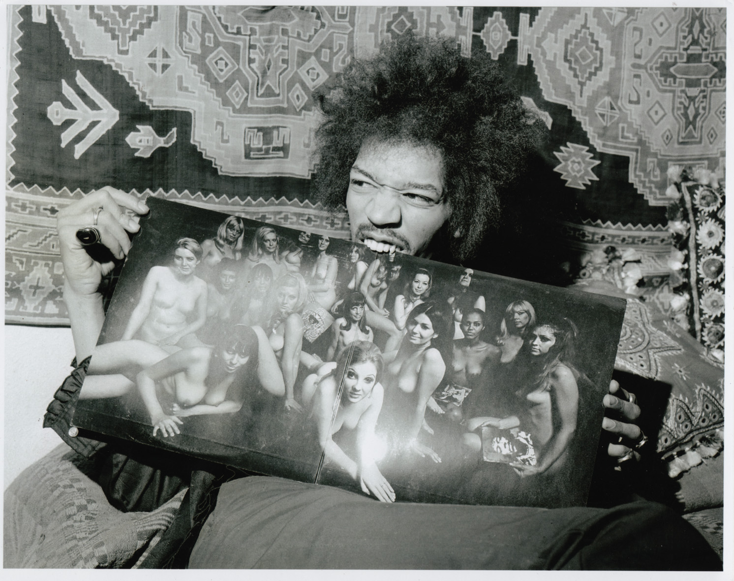 Jimi hendrix s record collection for Original photography for sale