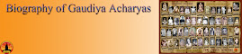 Biography of Gaudiya Acharyas