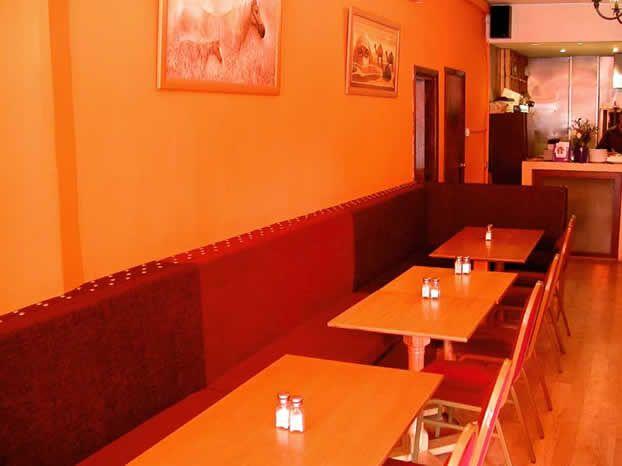 The Orange Room Mile End Menu