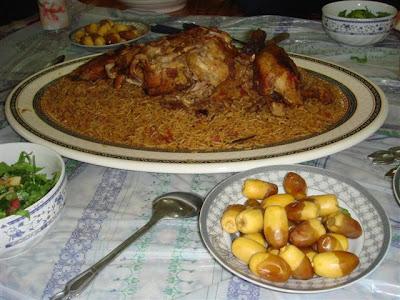 طبخ الكبسة السعودية بالدجاج - طريقة عمل الكبسة السعودية بالدجاج