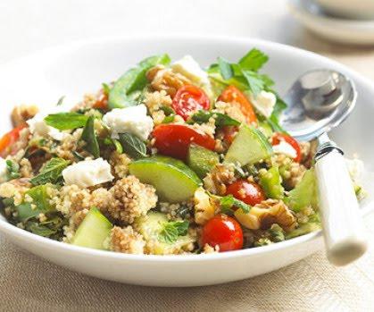 LEBANESE RECIPES: Herbed Garden Couscous Recipe
