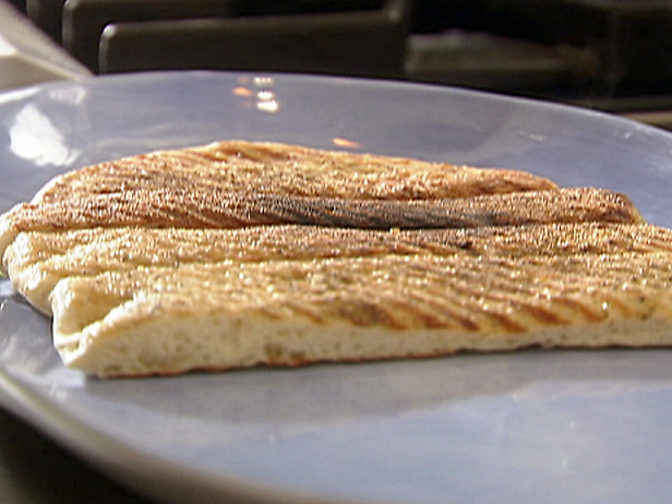 Grilled Za'atar Flatbread Recipe | LEBANESE RECIPES