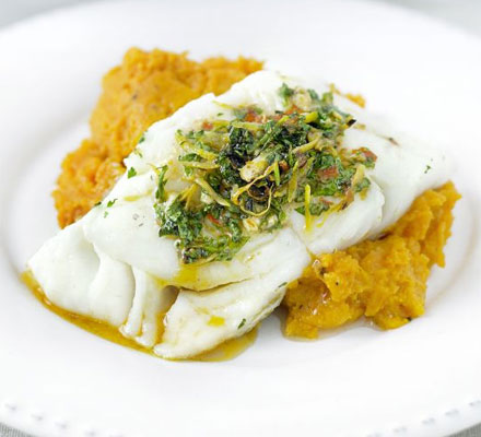 Moroccan spiced fish with ginger mash recipe lebanese for Moroccan fish recipe