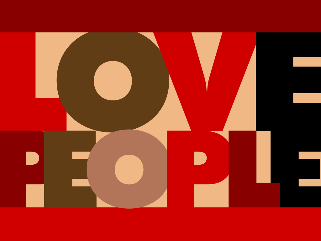 1 love and people