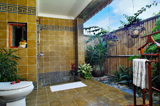 rv bath room idea for outdoor house
