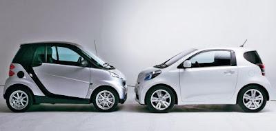 compare smart car and toyota iq. Black Bedroom Furniture Sets. Home Design Ideas
