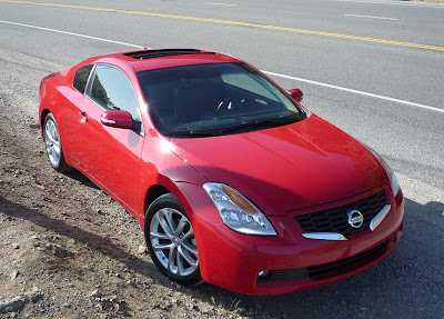 Nissan Altima Coupe Test Drive