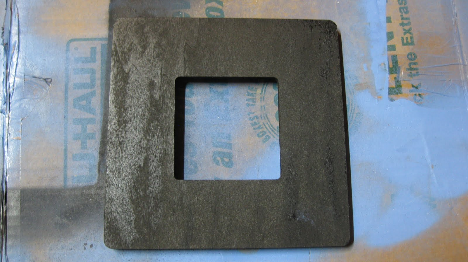 first begin with a 1 square wooden frame from michaels or any craft store
