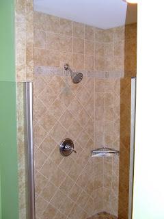 Custom Tile Shower Amp Tub Surround Home Construction