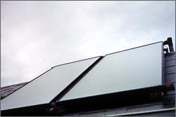 picture of solar collector