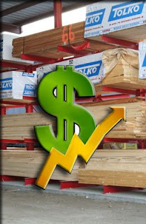 picture of building materials and rising costs