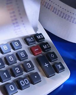 picture of adding machine