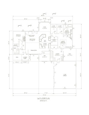Designer Home Plans, New Home Building Plans, Country Home Floor
