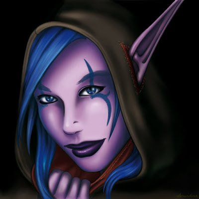 Voleuse elfe de la nuit