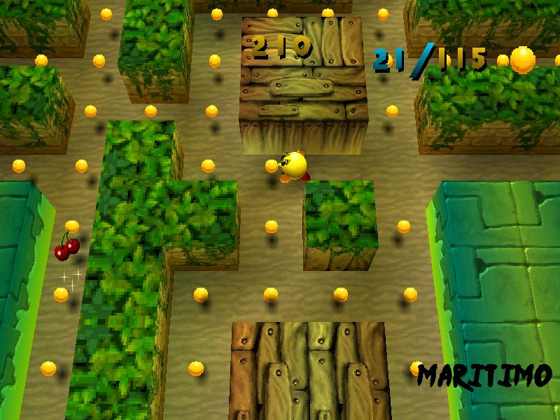 jugar gratis pacman world: