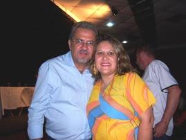 Sr Prefeito Almeida e nossa presidente Yonar Peixoto