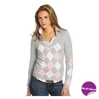 Esprit Argyle Sweater