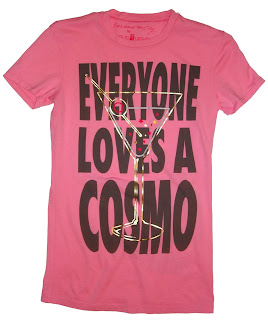 Patricia Field Sex and the City Cosmo Tee