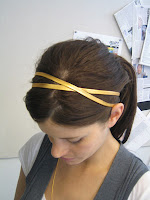 Gold Two Band Headband