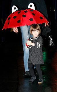 Suri Cruise Ladybug Umbrella