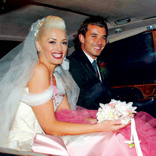 Gwen Stefani in Christian Dior by John Galliano Wedding Gown