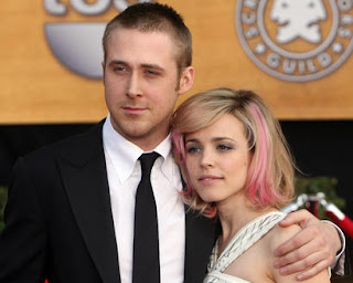 Rachel McAdams and Ryan Gosling Pink Hair