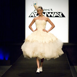 Kenley Wedding Gown Project Runway Season 5